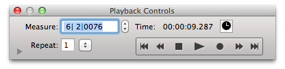 Playback cropped