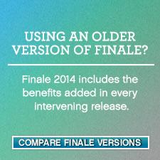 Compare Finale Versions