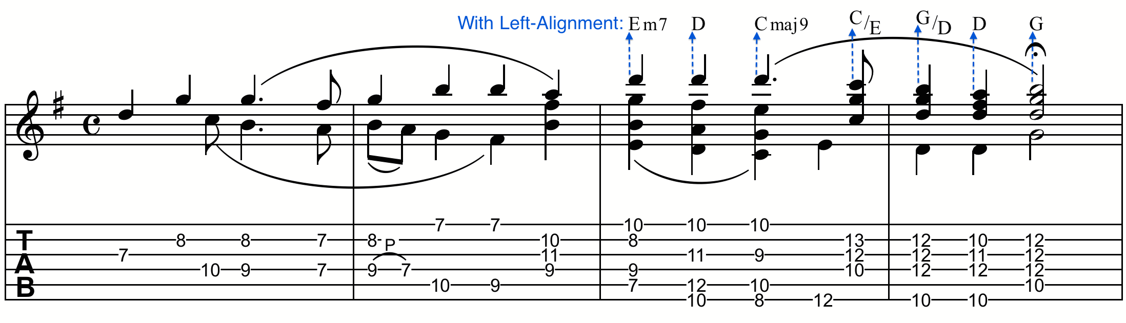 Chord Positioning And Alignment Finale