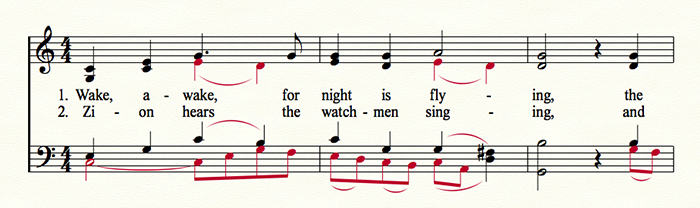 Choral Music Example