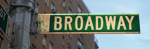 Broadway Sign Image