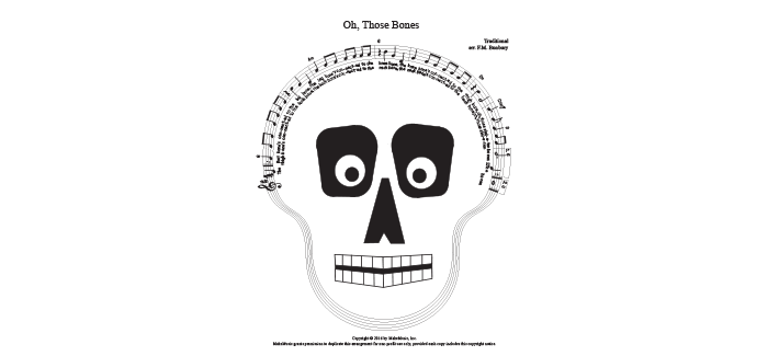 Halloween-Themed Music Notation Discovered