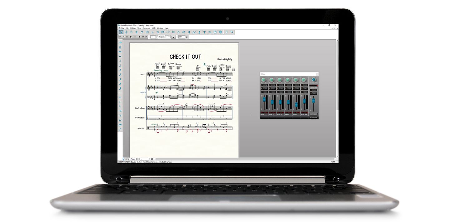 Finale PrintMusic | Create Professional Sheet Music Easily