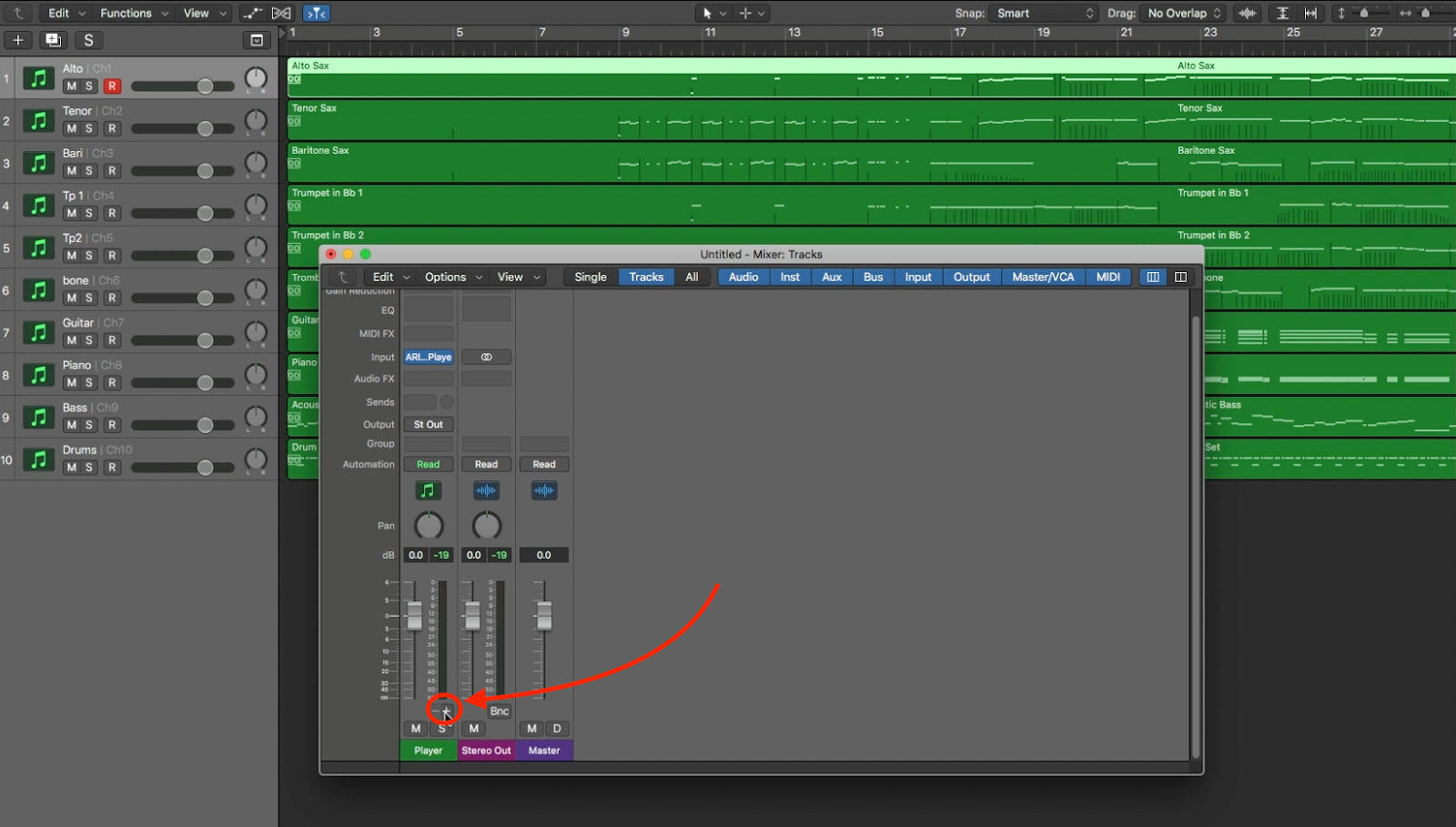 Using Finale's Human Playback AND Garritan Libraries in Logic Pro X 9