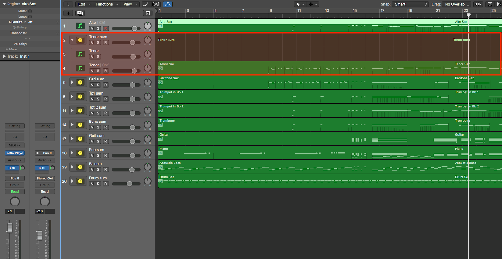 Using Finale's Human Playback AND Garritan Libraries in Logic Pro X 11