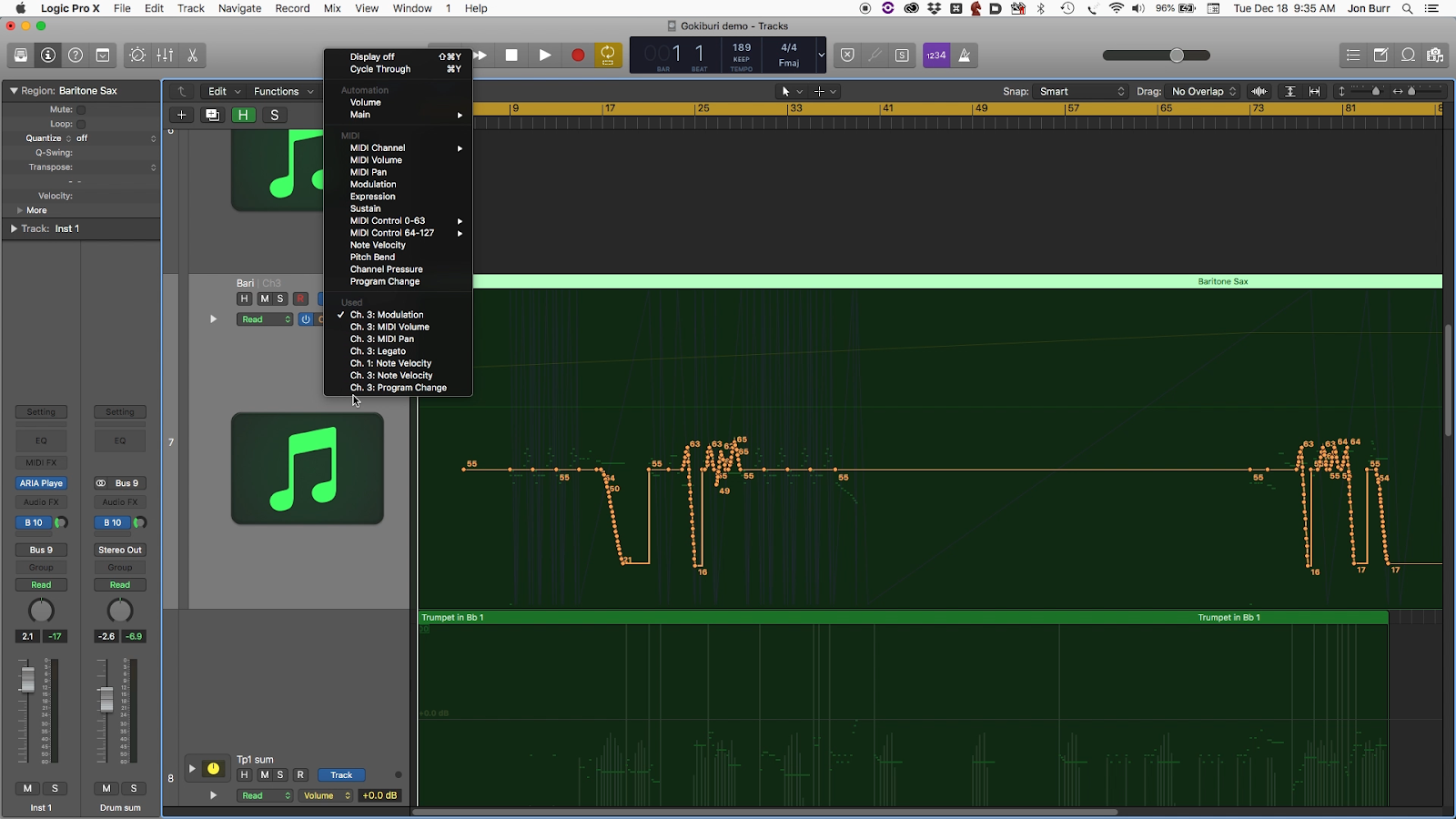 Using Finale's Human Playback AND Garritan Libraries in Logic Pro X 6