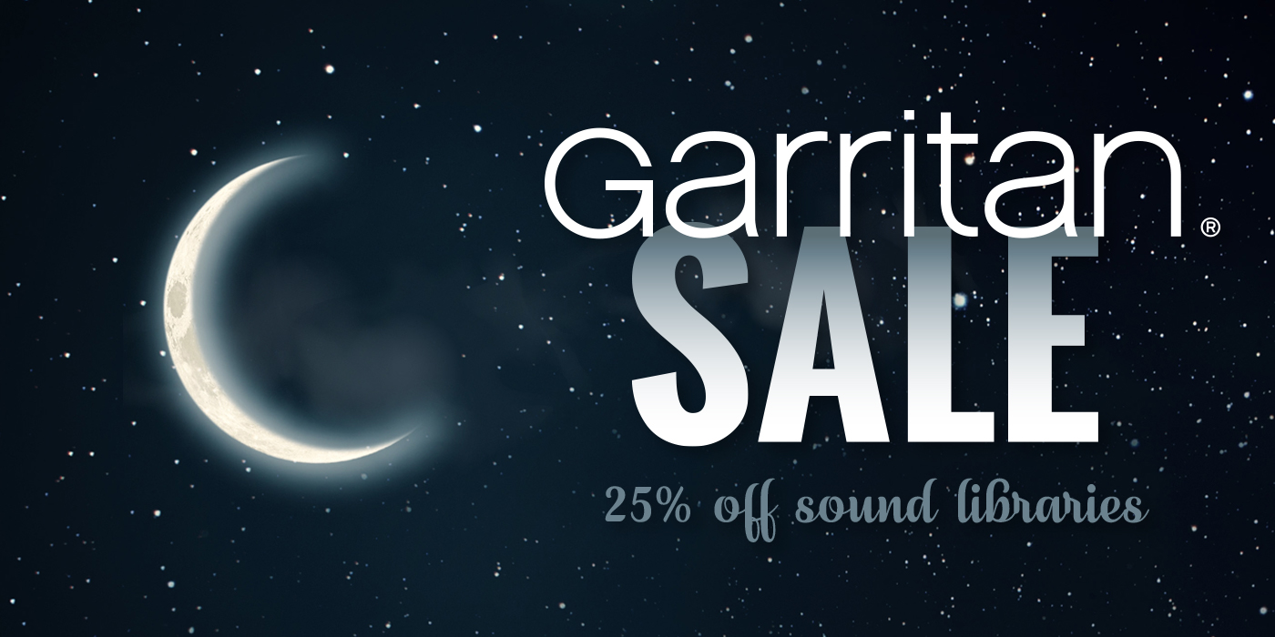 Save 25% on Garritan Sound Libraries