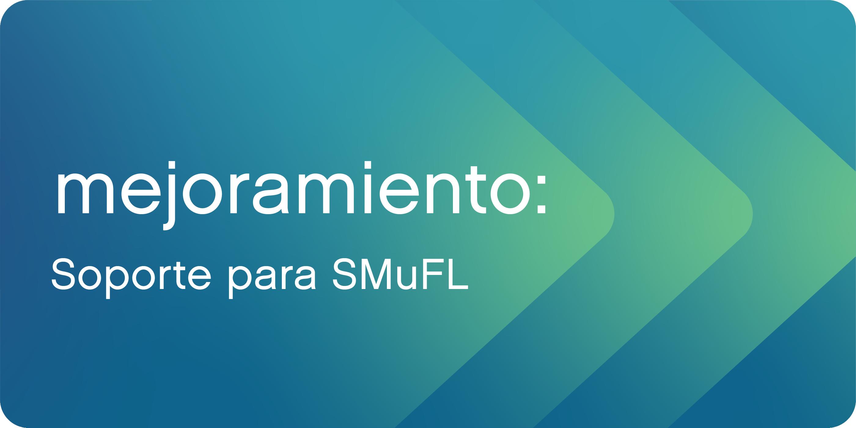Soporte para SMuFL